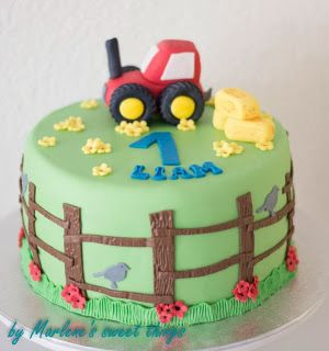 Tractor-Cake