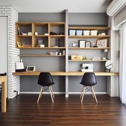 ちょこっとリノベで理想のデザインと素材感を実現の部屋 リビング