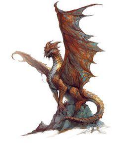 Copper dragon - Forgotten Realms Wiki