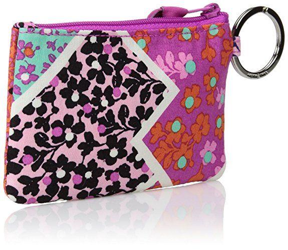 size 40 d9929 ba0ec Amazon.com: Vera Bradley womens Zip Id Case, Modern Medley, One size ...