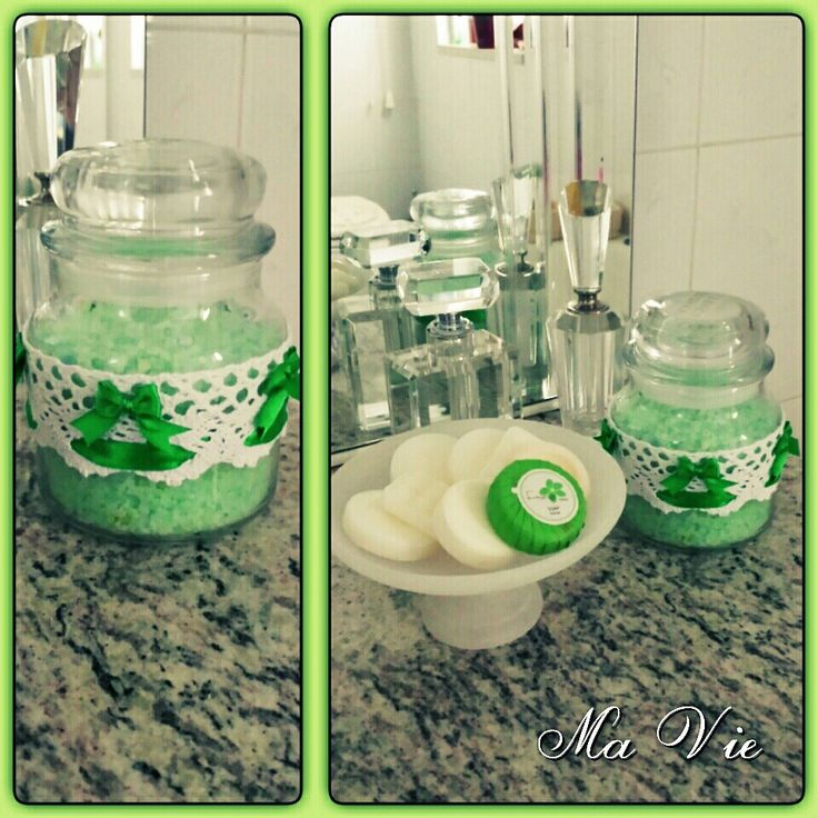 DIY bath salt - Sali da bagno fai da te (by Ma Vie Creations & Events)