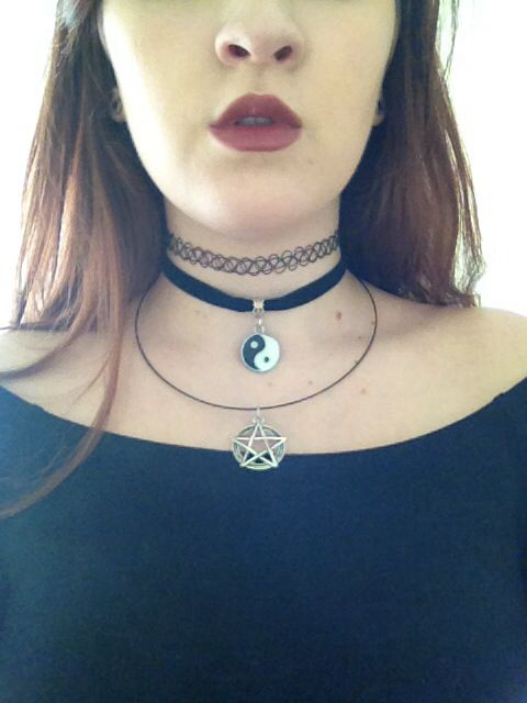 Top choker and velvet ribbon choker eBay, necklace from moncou