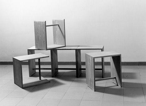 Ulmer Hocker by Max Bill, 1954