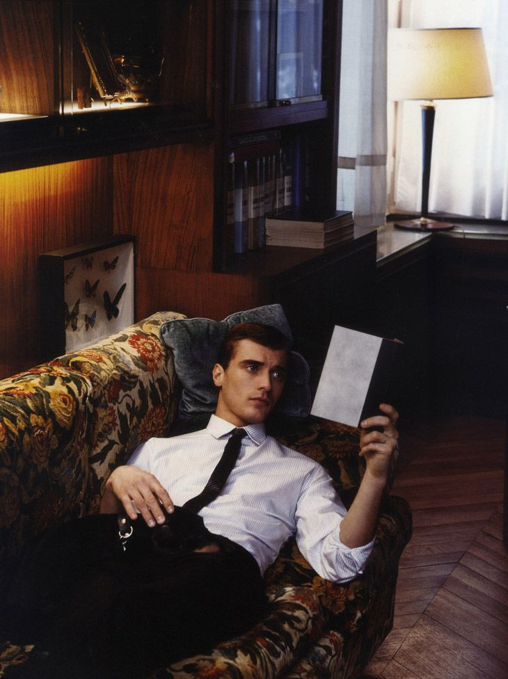 Clement Chabernaud by Andreas Larsson for Man About Town