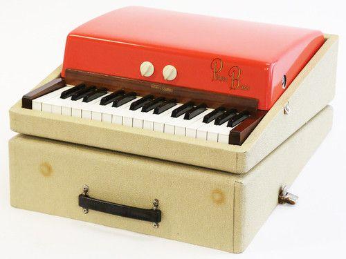 vintage keyboard bass
