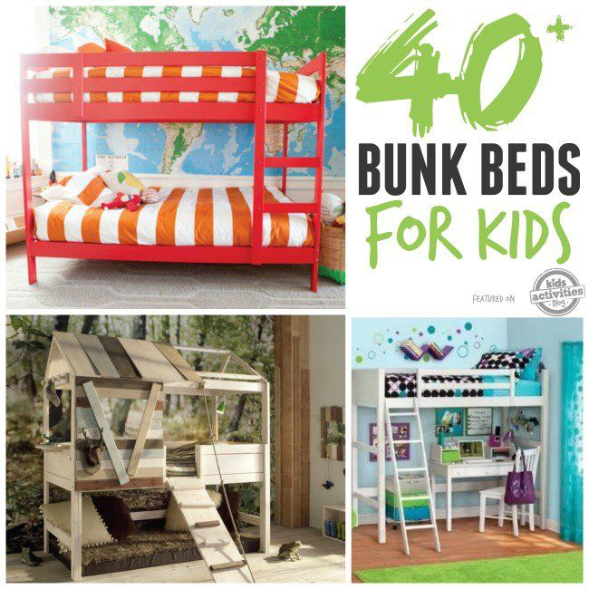 40 BUNK BEDS FOR KIDS. Bedroom GirlsBedroom IdeasBoy ...