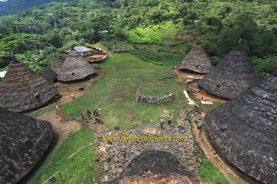 Waerebo traditional village of Manggarai Flores Indonesia