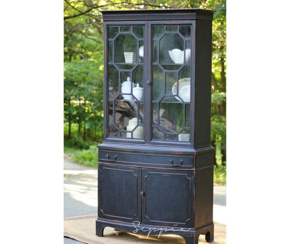 black china cabinet hutch | roselawnlutheran