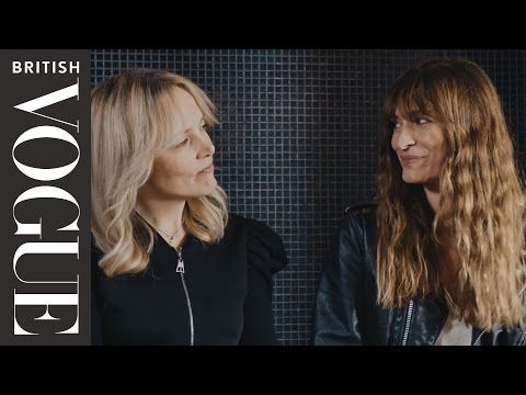 Caroline De Maigret On French Style And How To Dress Well | Inside The Wardrobe | British Vogue - YouTube
