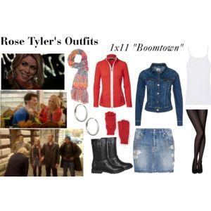 """Rose Tyler's Outfits from """"Boomtown"""""""