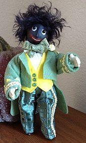 Mr. Golly ~ Original Doll from LEE FEICKERT - THE LITTLE ONES found @ Doll Shops United http://www.dollshopsunited.com/stores/leefeickert/items/1271166/Mr-Golly-Original-Doll #dollshopsunited