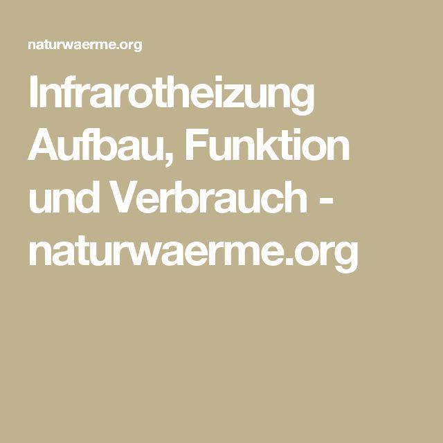 Infrarotheizung Aufbau, Funktion und Verbrauch - naturwaerme.org
