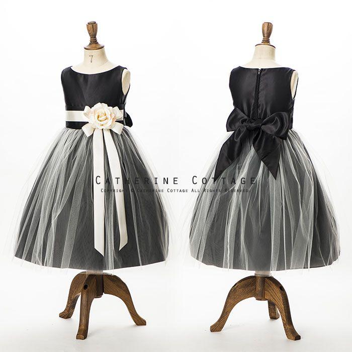 商品番号: SK402 リボンベルトのホワイトチュールドレス 発表会・結婚式に 子供ドレス 発表会 SK402