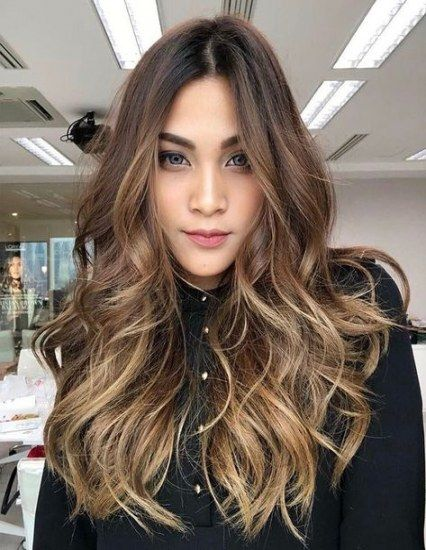 Pin by Emili Ortiz on HAIR COLORS in 2020 | Ombre hair color, Balayage hair, Honey hair
