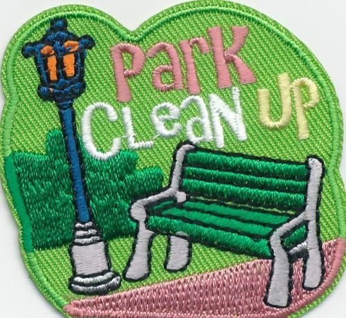 Girl Boy Cub Park Clean Up Day Fun Patches Crests Badges Scout Guide Iron On | eBay