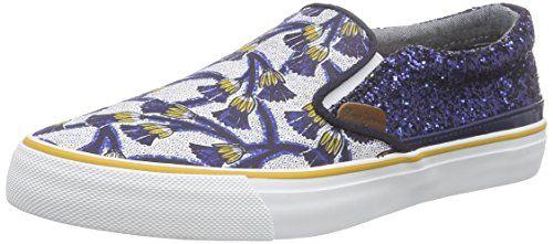 Pepe Jeans London ALFORD AFRICA, Damen Sneakers, Blau (580SAILOR), 41 EU - http://uhr.haus/pepe-jeans/41-eu-pepe-jeans-damen-alford-africa-sneakers