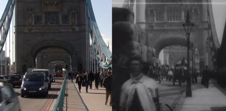 Путешествие в Лондон на 100 лет назад