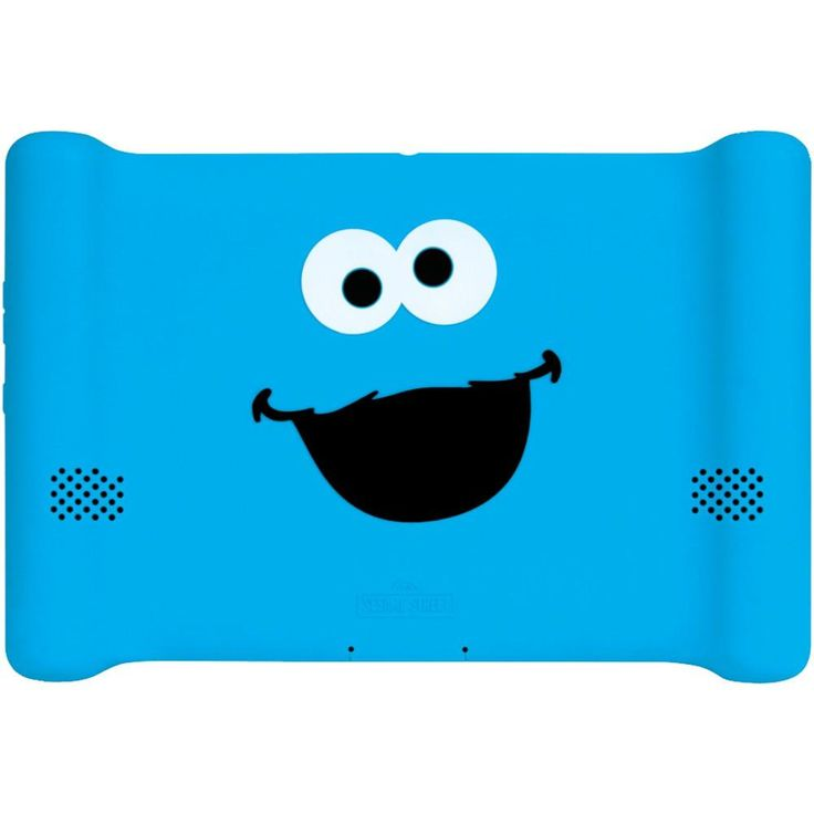 Isound Kindle Fire Hd Comfort Grip Case (cookie Monster)