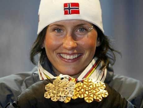 Marit Bjørgen tek gull : ) Marit Took the GOLD !!!