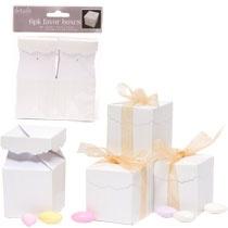 6 Ct Wedding Favor Boxes Dollar Tree