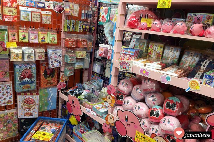 Die volle Ladung Kirby Merchandise, bitte