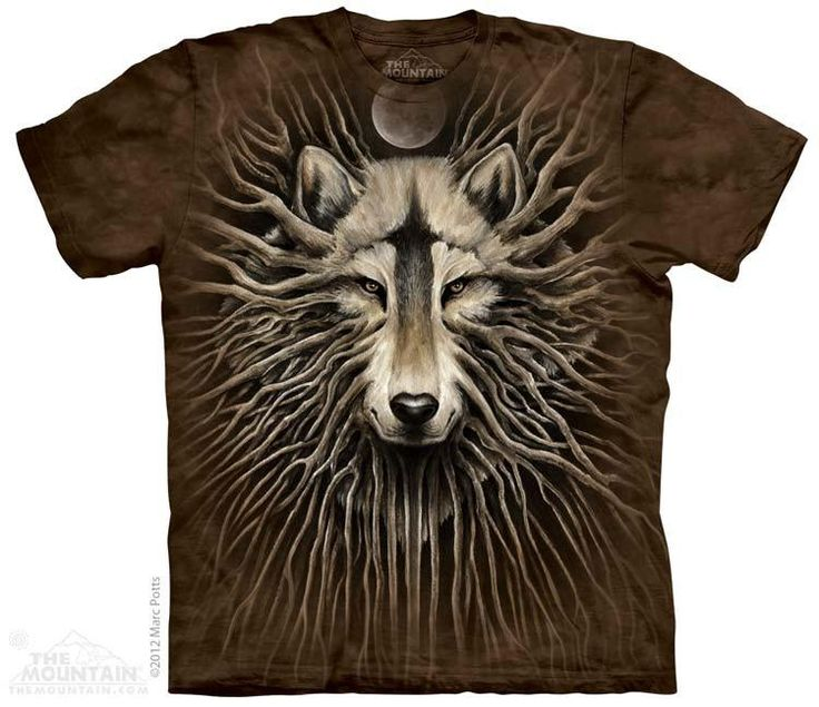 WOLF ROOTS T-SHIRT BY THE MOUNTAIN®