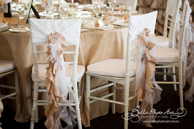 @BellaPhotoArt @FortScratchley #Newcastle #beige #ruffle #chair covers #white #tiffany #chairs #glass #candelabras Mel and Greg's #wedding