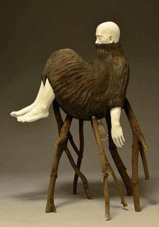 Figurative Sculpture by Yasuyuki Katayama