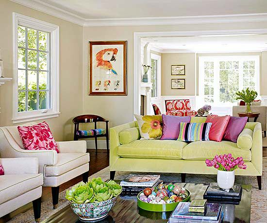 Decorating Trends: What We Love Right Now. Green SofaGreen LoungeBudget  DecoratingLiving Room ColorsLiving Room DesignsLiving Room IdeasColourful  ... Part 75