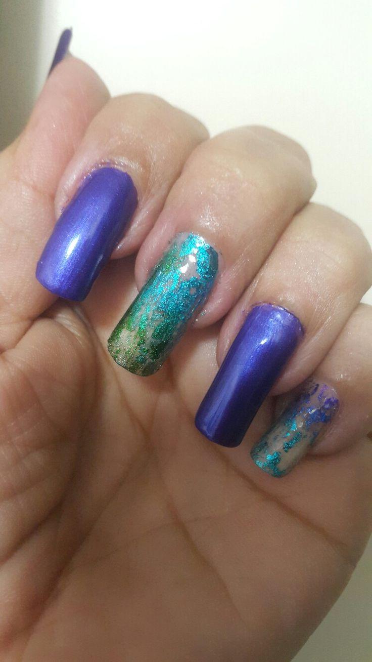 #uñas....#nails....color vogue ..fantastic belladona...!!!💅