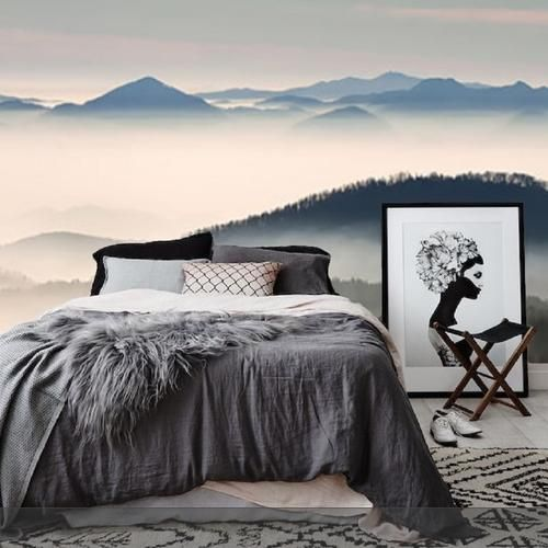 Wohnung Streichen Farbberatung : Die besten 17 Ideen zu Tapeten Schlafzimmer auf Pinterest  Tapete