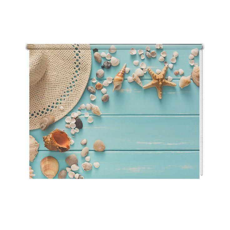 Met dit rolgordijn Summer vibes kun jij elke dag chillen in jouw kamer. Je kunt zelf de maten aangeven. YouPri maakt het rolgordijn speciaal voor jou op maat. Zowel in lichtdoorlatend als verduisterend. En nu ook zelfs dubbelzijdig bedrukt rolgordijn mogelijk. #rolgordijn #opmaat #interieur #bedrukt #foto #lichtdoorlatend #verduisterend #dubbelzijdig #bedrukt #steigerhout #beach #summer #vibes #relax #meisjeskamer #tiener