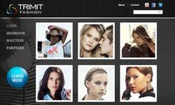 22 July 2011: launch of TRIMIT fashion website.