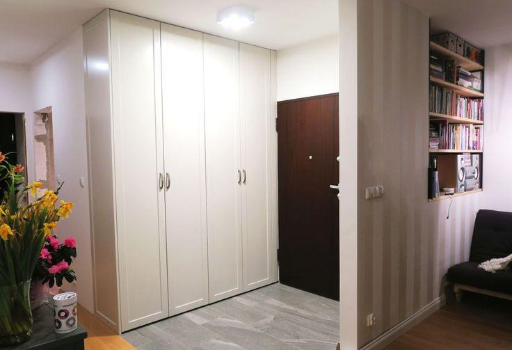 szafa na wymiar w stylu angielskim wardrobe in English style #szafa #szafy #wardrobe #biel #white #design #decor #stylangielski #angielska #meble #furniture #warszawa #warsaw #dom #home #style #newhome