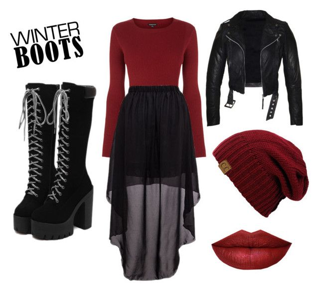 """""""Perfect winter look"""" by milkshake69 ❤ liked on Polyvore featuring Warehouse"""