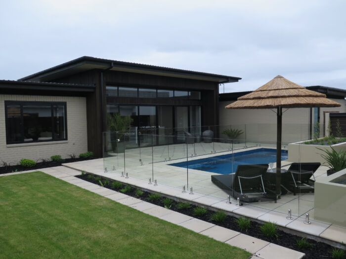 #lifegoals. Imagine spending your summer parked up beside this pool! Talk to us today for all your pool fencing requirements. #wemakefencingeasy www.boundaryline.co.nz