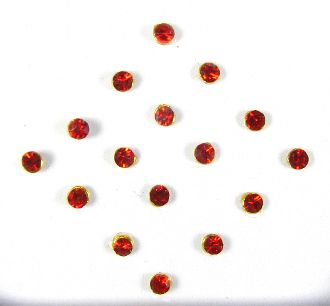 Single stone pack - Red (1mm)