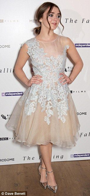 Birthday girl: The Game Of Thrones star turned 18 last Wednesday while she was filming her...