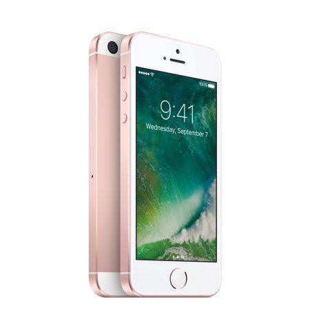 Straight Talk Apple iPhone SE 32GB 4G LTE Prepaid - Rose Gold