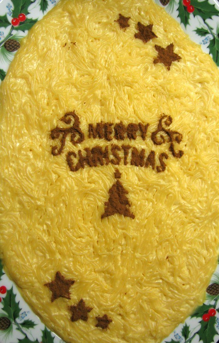 Aletria de Natal / Christmas sweet capellini
