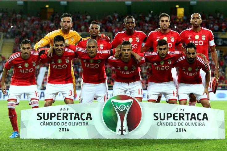 Plantel do Benfica para 2014/2015