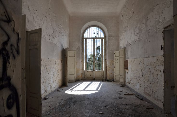 Ospedale Psichiatrico di Volterra, a former psychiatric hospital in Tuscany, Italy, was once home to more than 6,000 mental patients.