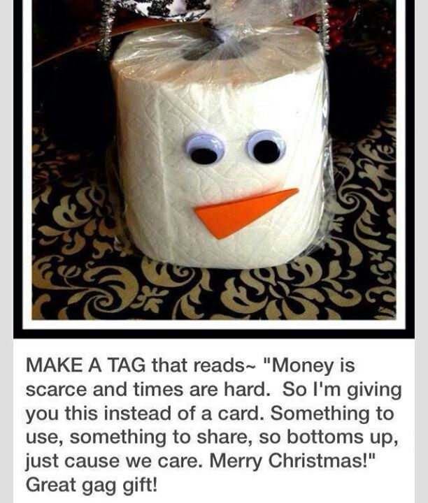 Easy cheap Christmas gift!