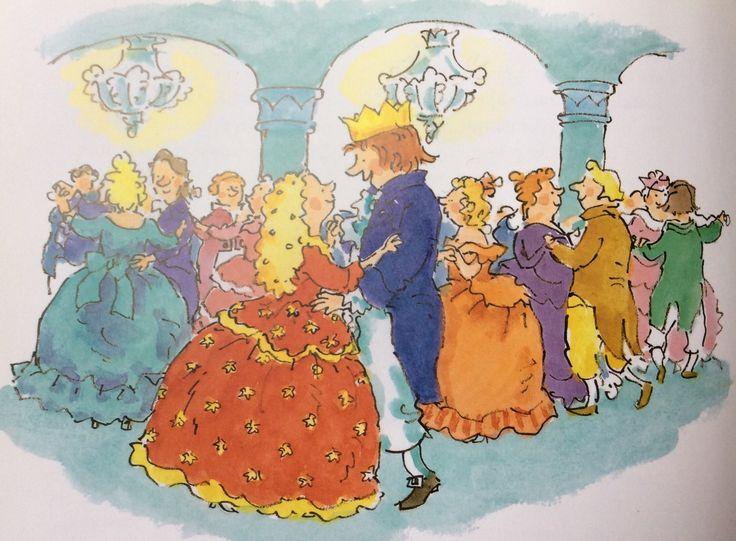 Assepoester en haar prins in Het Grote Sprookjesboek