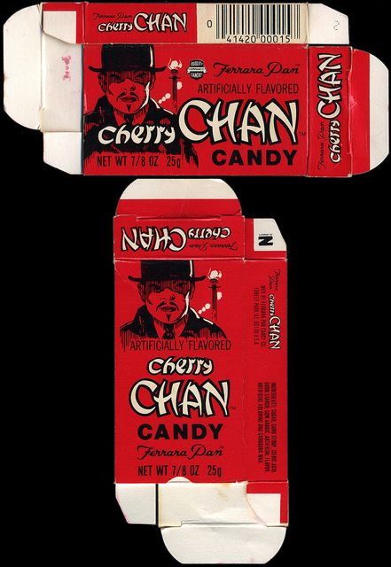 Ferrara Pan - Cherry Chan candy box - late 1970's early 1980's   Flickr - Photo Sharing!