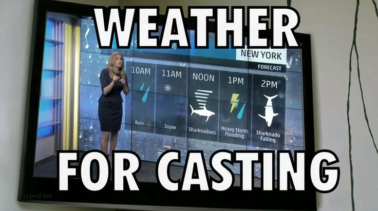 Weather...For casting (from 'Sharknado 2')