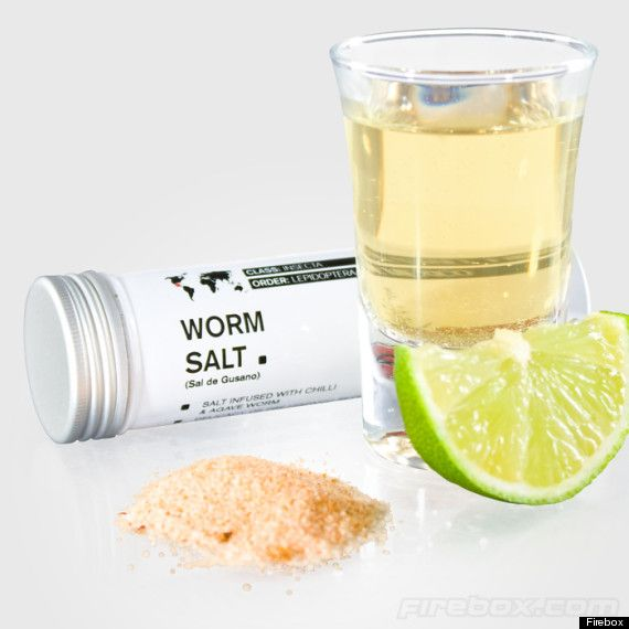 Sal de Gusano - Worm Tequila Salt    #recipes #mexicanfood #tequila #mexico #latinculture