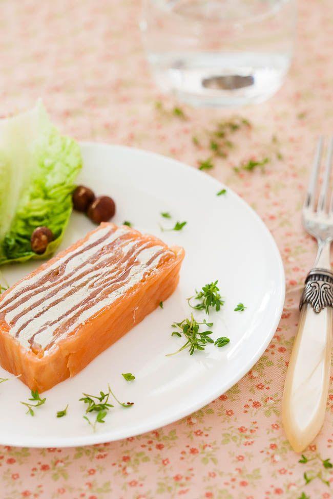 Salmon Terrine Recipe - This link to the english translation of this original dutch post