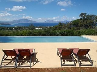 Casa Panoramica con piscina vista mare