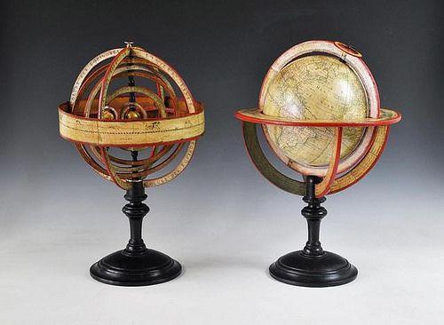 Vente le 13 juin 2014 par deburaux associ s paris - Globe terrestre en carton ...